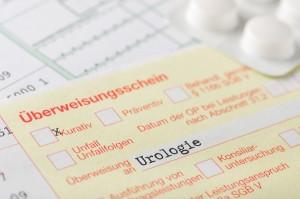 Überweisungsschein Urologie